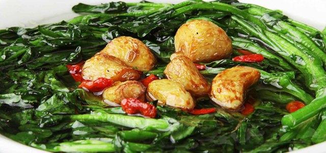 鲜绿鲜香营养素菜汤