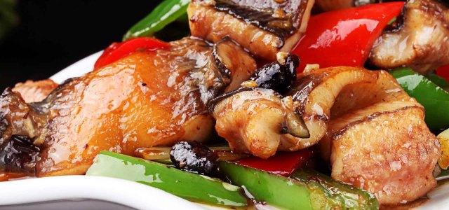 豆豉鳝鱼片