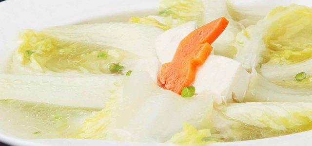 豆腐白菜胡萝卜完美融合
