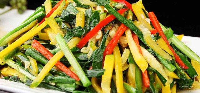 韭菜炒嫩南瓜
