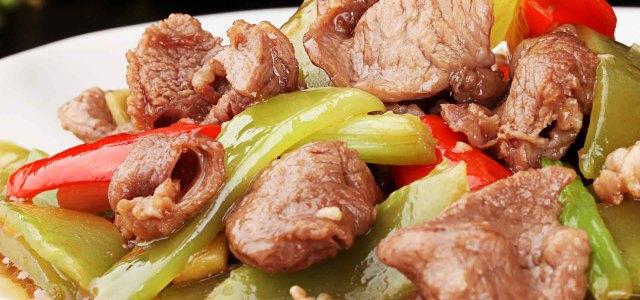 莴笋炒羊肉