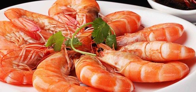 白灼基围虾
