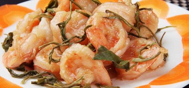 虾的美味,茶的清香