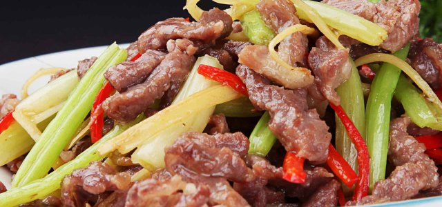芹菜炒羊肉