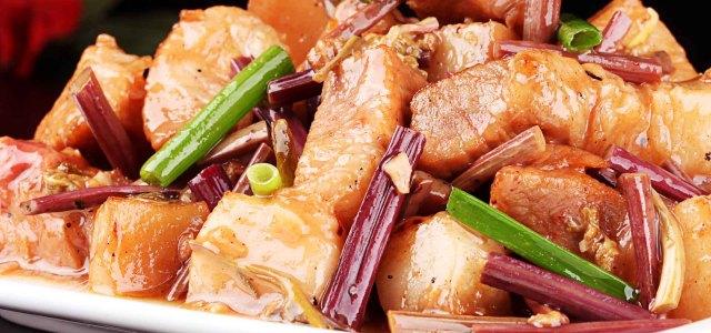 清洁肠胃,蕨菜必须首选