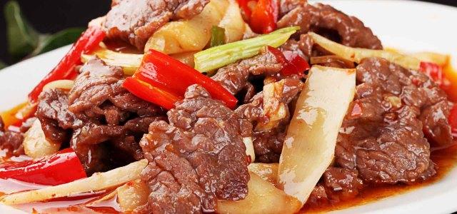 牛肉和子姜的配对