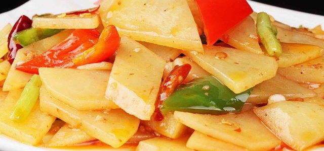简单的做法,好吃的土豆片