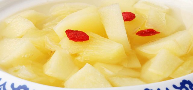 苹果菠萝糖水