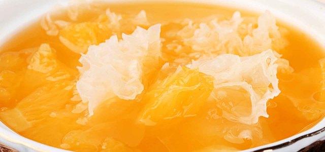 香橙银耳糖水