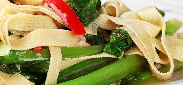 油麦菜豆腐丝