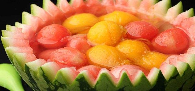 夏季水果明星搭配