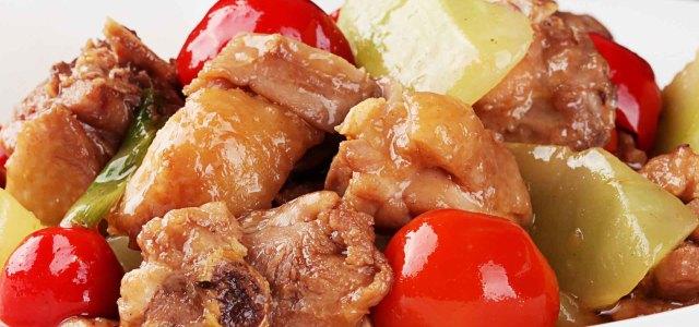 泡椒三黄鸡