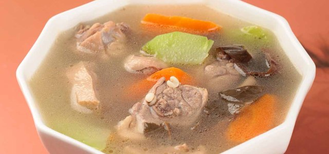 佛手瓜薏米鸭汤