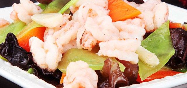 有虾有鲜蔬,混搭更营养