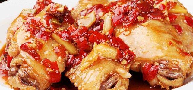 剁椒焖鸡翅