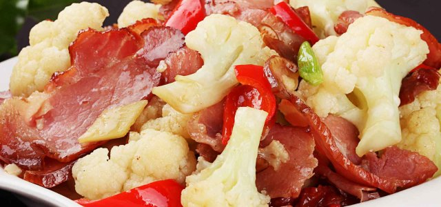 腊味炒花菜