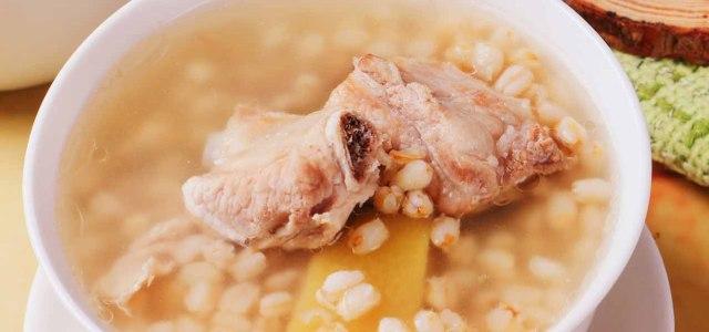 小麦排骨汤