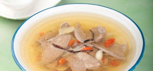 杞子虫草猪肝汤