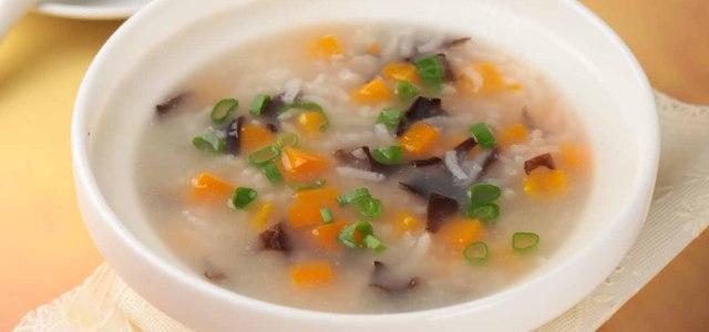 南瓜木耳糯米粥