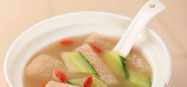竹荪黄瓜汤