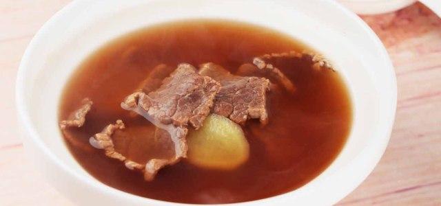 阿胶牛肉汤