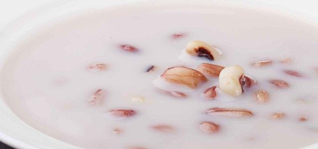 眉豆、花生和牛奶,这搭配绝了