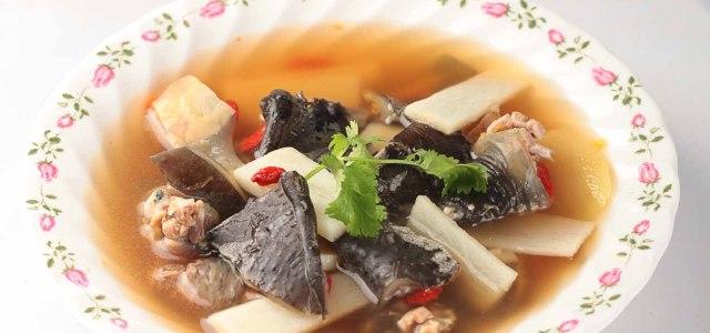 山药甲鱼汤