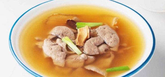 佛手合欢猪肝汤