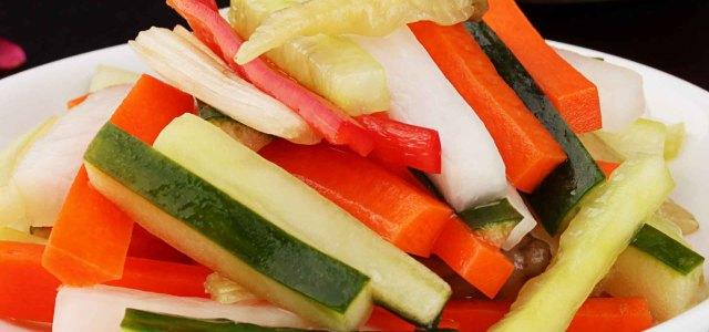 轻松易制的泡菜