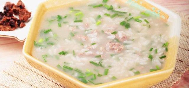 锁阳韭菜羊肉粥