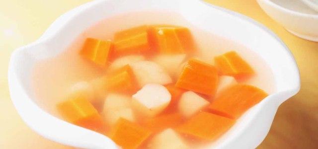 马蹄胡萝卜茅根糖水