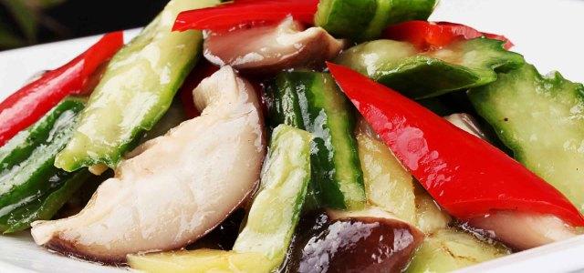 丝瓜烩香菇