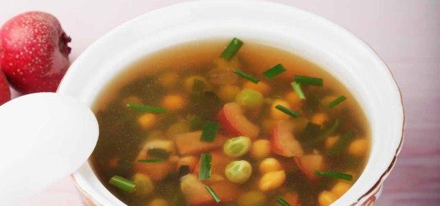 山楂韭菜豆汤
