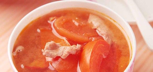 羊肉西红柿汤