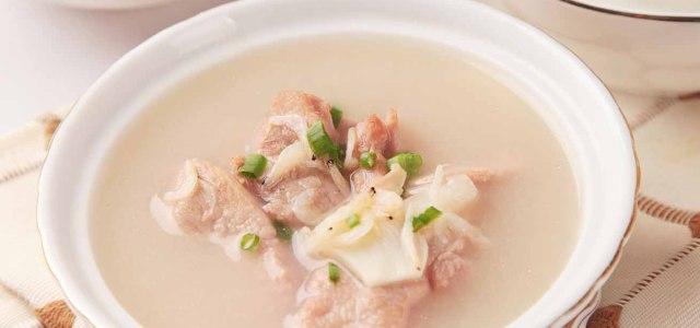 羊肉虾皮汤