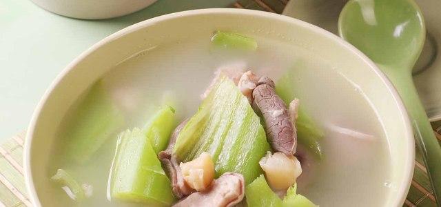 苦瓜冬菇山药排骨汤