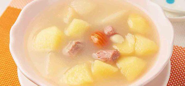 花旗参苹果雪梨瘦肉汤