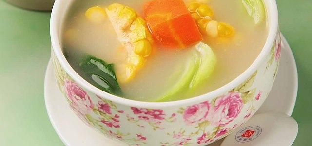 玉米油菜汤