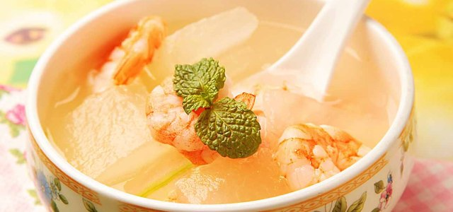 冬瓜虾仁汤