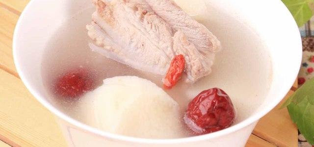 山药红枣煲排骨