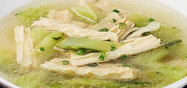 腐竹黄瓜汤