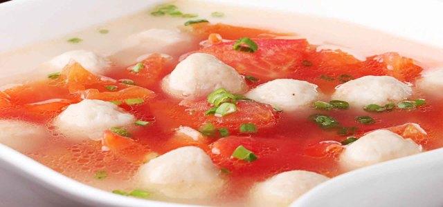 西红柿鱼丸汤