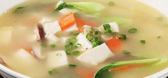 三鲜豆腐汤