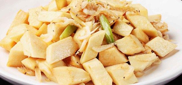 虾皮焖竹笋