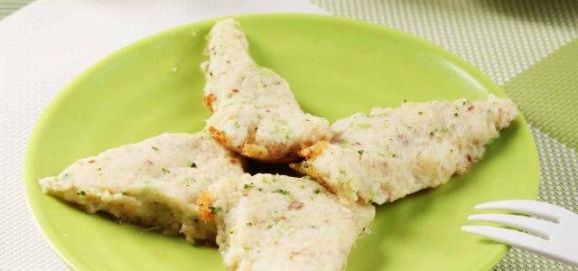 鲜鱼奶酪煎饼