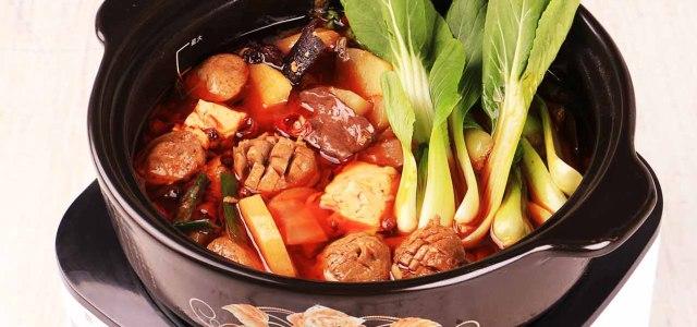鸭血豆腐火锅