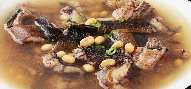 黄豆炖鳝鱼