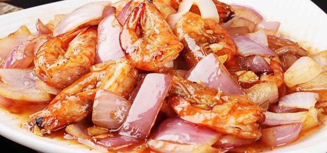 吃不腻的爆炒虾