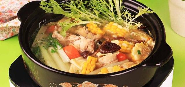 鲜味清汤火锅
