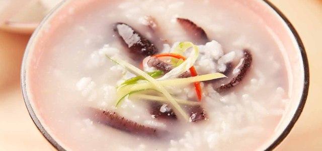 营养的海参粥